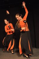 2011.06 Sisters and Flame - Spanish Castanets and Fans